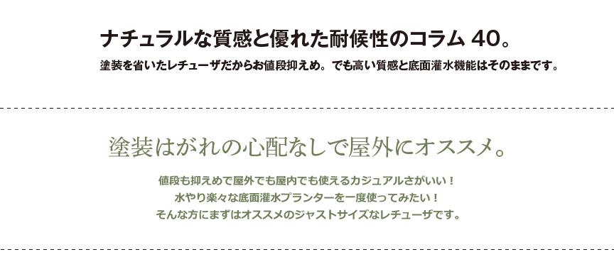 レチューザ【コラム40】値引き品